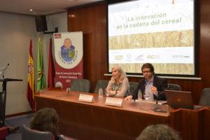 innovación en la cadena del cereal, Cristina Molina y Ricardo Migueláñez