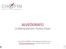 """Jornada alveográfica """"El laboratorio como fuente de datos para la toma de decisiones"""""""