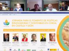 Innovatrigo celebra su primera jornada online para el fomento de políticas innovadoras y sostenibles en cereal en Castilla y León